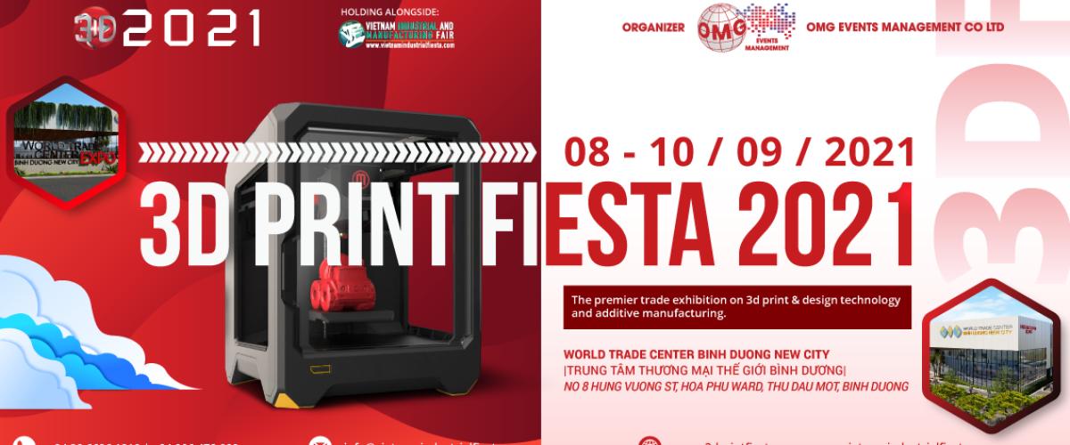 3DF 2021- 3D PRINT FIESTA